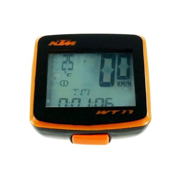 Tachometer trinásť funkcií oranžový