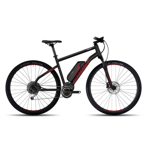 Elektrický crossový bicykel Ghost červeno šedý