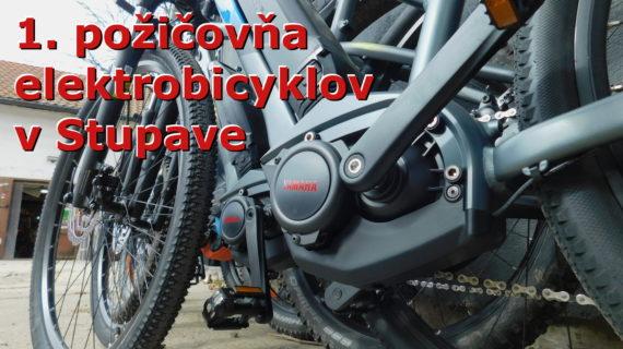 Spúšťame prvú požičovňu elektrobicyklov v Stupave.🚴♀️🚴🚴♂️